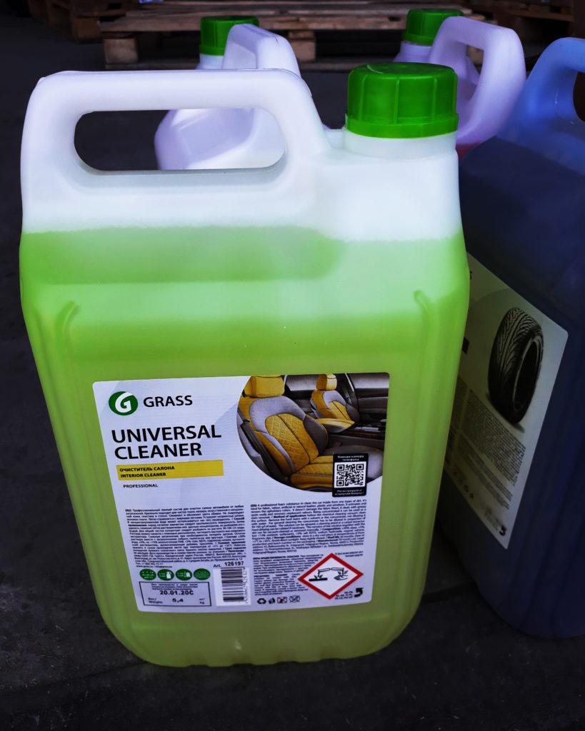 очиститель салона grass-universal
