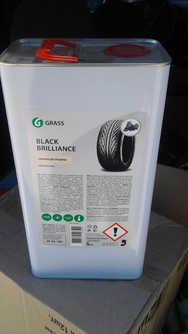 Полироль для шин «Black Brilliance» 5Л