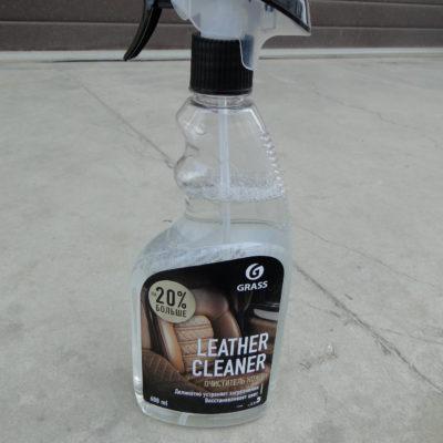 Очиститель натуральной кожи Leather Cleaner 600мл