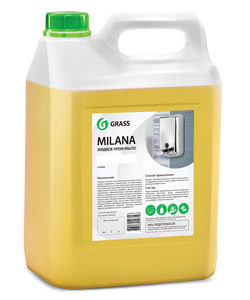Жидкое крем-мыло Milana «Молоко и мед» 5л