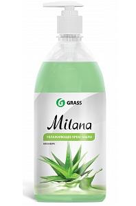 Жидкое крем-мыло Milana «Алоэ Вера», 1л