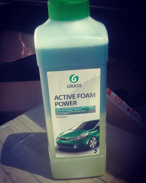 Активная пена «Active Foam Power» для грузовиков 1л