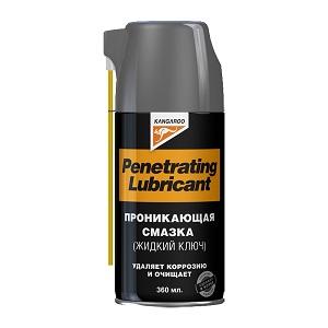 Penetrating Lubricant — проникающая смазка (жидкий ключ), 360 мл.