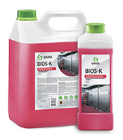 Высококонцентрированное щелочное средство «Bios K» (канистра 5,6 кг)