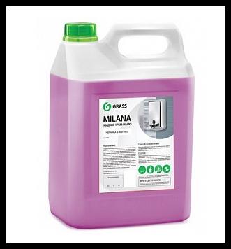 Жидкое крем-мыло Milana «Черника в йогурте», 5 кг