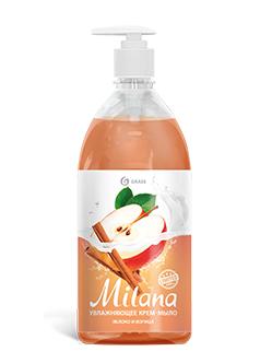 """Жидкое крем-мыло """"Milana"""" яблоко и корица (флакон 1000 мл)арт. 125419"""