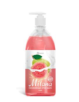 """Жидкое крем-мыло """"Milana"""" гуава (флакон 1000 мл) арт. 125429"""