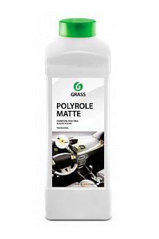 """Полироль-очиститель пластика матовый """"Polyrole Matte vanilla"""" (канистра 1л) арт. 110268"""
