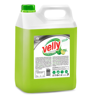"Средство для мытья посуды ""Velly"" Premium лайм и мята (канистра 5 кг)"