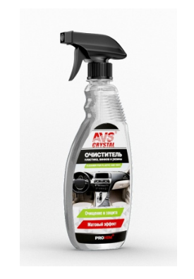 Очиститель винила, пластика и резины (триггер) 500 мл. AVS AVK-038