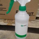 Бутылка с профессиональным триггером 05л(зеленая)-Италия