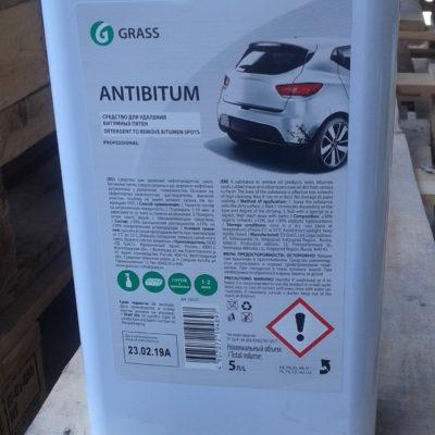Очиститель битумных пятен «Antibitum» (канистра 5 л)