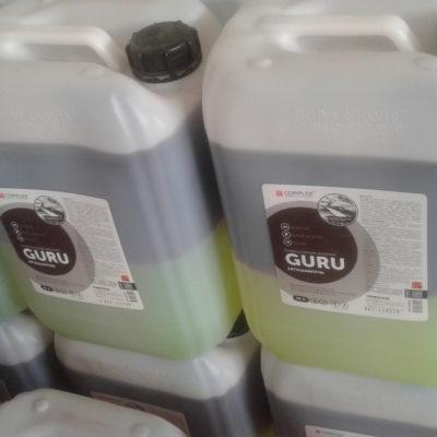 Автошампунь для бесконтактной мойки Guru 5л Complex®(высокая жесткость воды)