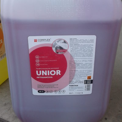 Автошампунь для бесконтактной мойки UNIOR 20л  Complex®(средняя жесткость воды)