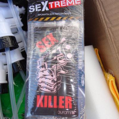 Ароматизатор воздуха LS-3 SEX Treme Sex Killer «Антитабак»