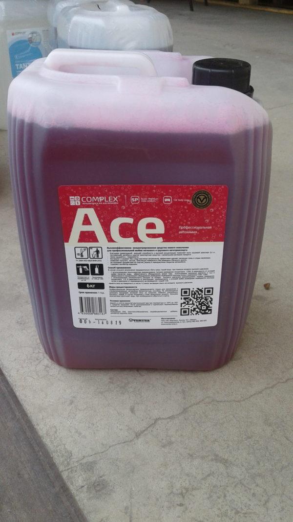 Автошампунь для бесконтактной мойки ACE 5л Complex®(повышенная жесткость воды)