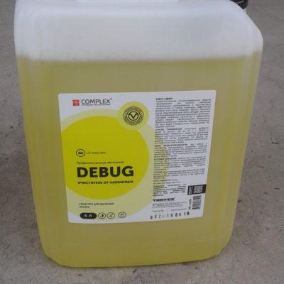 Средство для удаления следов насекомых DeBug Complex® 5л