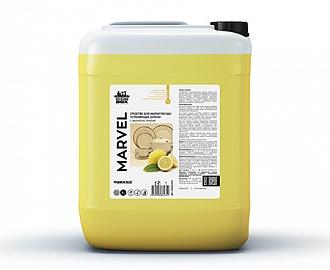 Средство для мытья посуды Marvel, лимон 5л