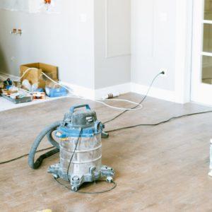 Очиститель после ремонта